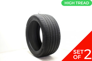 Set Of 2 Used 285 40r20 Continental Procontact Rx Nfo 108h 8 8 5 32