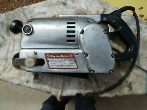 Porter Cable A3 Take About 3 x24 Heavy Duty Belt Sander Needs Work