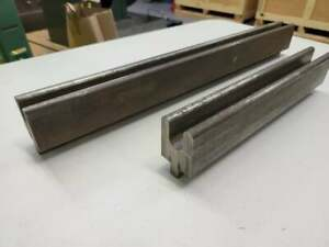 Press Brake Tooling U Channel Forming Dies Lot Of 2 13 5 23 Long Pieces