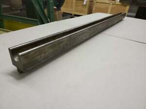 Press Brake Tooling U Channel Forming Die At 4 Long St45 Oh 15 6 168 Rev A