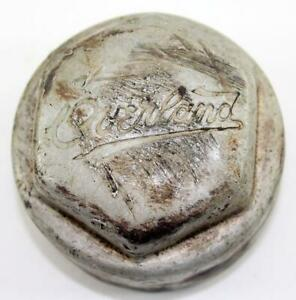 Antique Overland Threaded Screw On Hubcap Grease Cap