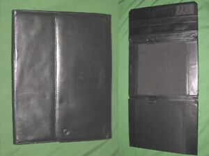 Monarch Note Pad Full Grain Leather Franklin Covey Planner 8 5x11 Binder 6092