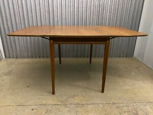 Drexel Projection Dining Set With 3 Leaves And 6 Chairs 1957 John Van Koert