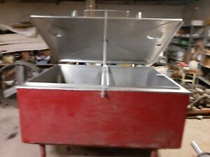 Dairy Tank Stainless Steel 400 Gallon Double Wall