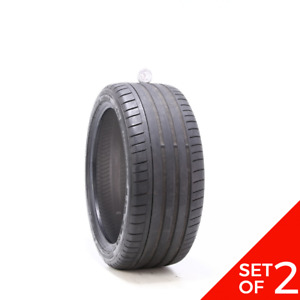 Set Of 2 Used 235 40r18 Dunlop Sp Sport Maxx Gt Mo 91y 5 5 32