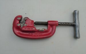 Ridgid No 42a 4 Wheel Pipe Cutter 1 2 To 2 In Very Good Conditon