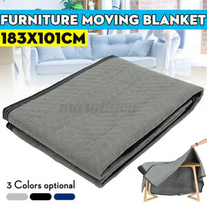 72 x40 Moving Blanket Heavy Duty Shipping Protection Furniture Cotton Pads