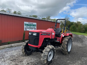 2017 Mahindra 4550 4x4 50hp Utility Tractor Super Clean Only 16 Hours