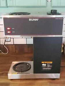 Bunn Vpr Series Commercial Coffee Maker Tested Works