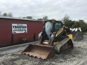 2012 New Holland C232 Compact Track Skid Steer Loader W Cab Clean Only 2000hrs