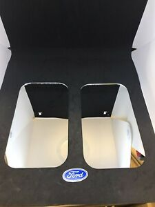 Pair Of Ford West Coast Mirror Replacement Glass
