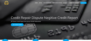 Business Website Credit Repair web Hosting And Domain Not Included