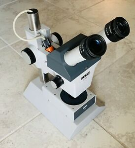 Zeiss Stemi Stereo Zoom Microscope With E pl 10x Eyepieces