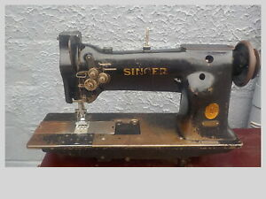 Industrial Sewing Machine Singer 112 140 leather