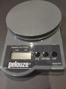 Pelouze Electronic Postal Scale Model Sp5 Battery Operated Weighs Up To 5 Lbs
