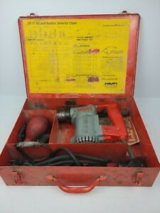 Hilti Te 17 Hammer Drill Tool Bundle With Case defective