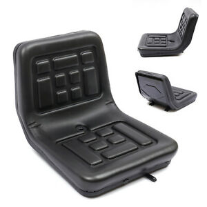 High quality Universal Black Slidable Tractor Seat Waterproof With Drain Hole