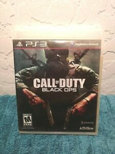 Call Of Duty: Black Ops For PlayStation 3 PS3 Complete with Manual Very Good $7.00