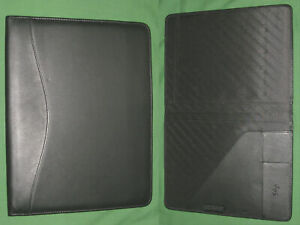 8 5x11 Note Pad Black Leather Scully Planner Binder Franklin Covey Monarch 712