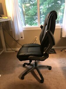 Office Chair High Back Leather Executive