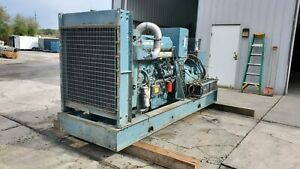 350 Kw Diesel Generator Series 60 Detroit 480 Volts Year 1997 Tested Serviced