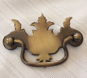 Two Tone Metal Chippendale Style 3 3 4 Bail Pull Drawer Pulls Handles Hardware
