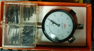 Spi Dial Indicator In Its Original Box Magnetic Base With Seveal Tips