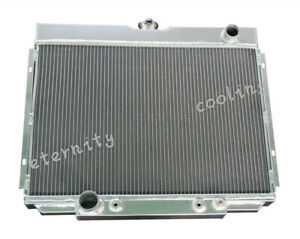 379 3 Row Aluminum Radiator Fit 67 70 Ford Mustang Falcon Cougar Xr7 V8 24 Core
