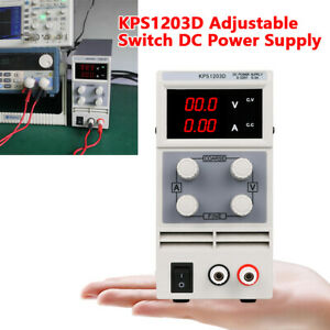 Adjustable Switch Dc Kps1203d Power Supply Adapter Output 110v High Precision