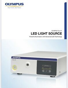 Cll v1 Led Light Source Olympus Very Good Condition