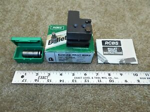 RCBS 45 Cal 225gr RN Double Cavity Lead Bullet Mold NO.452 374 Sizer amp; Punch $144.95