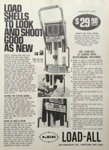1976 AD LEE PRECISION INC. HARTFORD WIS. LEE SHELL LOAD ALL $6.99
