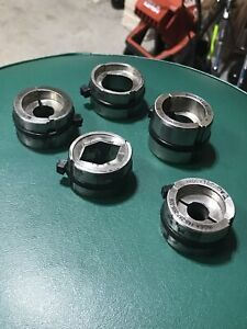 5 Burndy U Dies 405 259 175 166 655 Lot For Hydraulic Crimper Cable Wire