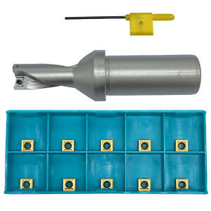 Spmg060204 10pcs With 16 2d c25 Shank Dia 25mm Indexable Fast U Drill Tool