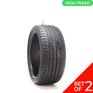 Set Of 2 Used 255 35r19 Goodyear Eagle Sport As 96w 9 9 5 32
