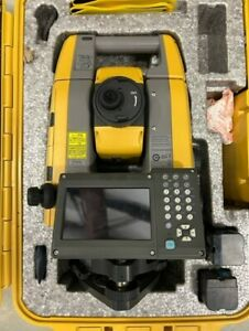 Topcon Gt1001 Robotic Total Station With Lps Machine Control Software