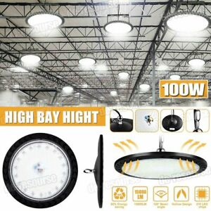 100w Led Ufo High Bay Light Factory Warehouse Lamp Industrial Lighting Fixture