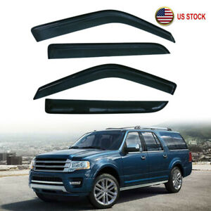 Window Visor Rain Vent Guard For Ford Expedition 97 17 Lincoln Navigator 98 17