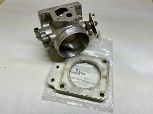 75mm Polished Throttle Body Upr Egr Spacer Fits 1986 93 302 5 0 Fox Body Mustang