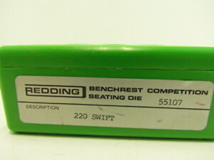 Redding Competition Bullet Seating Die #55107 220 Swift $74.95