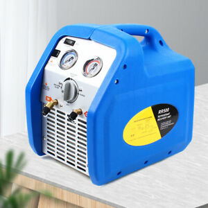 Portable Refrigerant Recovery Machine Twin Cylinder For Refrigerator Sanitary
