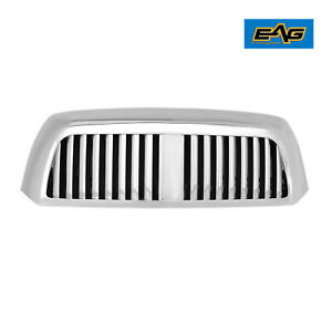 Eag Replacement Upper Full Hood Main Grill Fit 07 09 Toyota Tundra Chrome