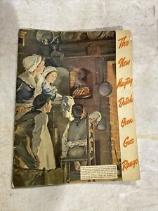 Maytag Rare Dutch Oven Gas Range Sales Catalog In Color