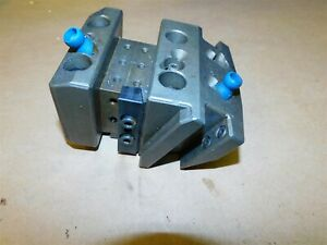 Cnc Turret Lathe Tool Holder Block Nakamura Tome W1462 For Double 5 8 Holders