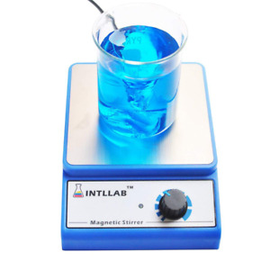 Intllab Magnetic Stirrer Stainless Steel Magnetic Mixer With Stir Bar no Hea