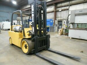 Hyster S150a 15 000 15000 Heavy Duty Cushion Tired Forklift Power Shift