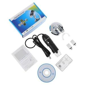 3 in 1 1600x Usb Microscope Osx Windows Pc Type c Micro usb Cell Phone Magnifier