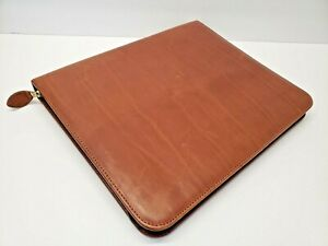 Day Timer Planner Leather Organizer 7 Ring Executive Binder Made Usa Lrg 13 x11