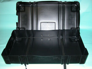 Case Storage shipping Molded W wheels 49 X 25 5 X 8