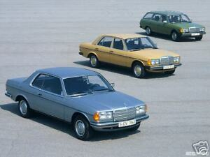 Mercedes Benz W123 Seat Covers 240d 250 280 E Ce Te 300d Cd Td 1976 1985